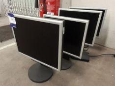 4 NEC Monitors