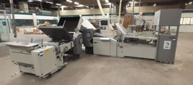 Heidelberg Stahl continuous feed Folding Line (2007) comprising; RFH-66 combination folding unit,