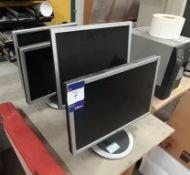 3 LG & 2 Acer Monitors