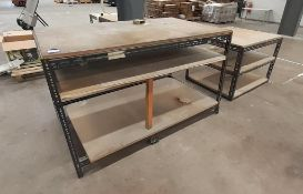 4 various sized Tables