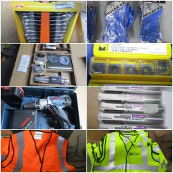 LARGE SALE OF UNUSED ENGINEER'S TOOLS AND EQUIPMENT