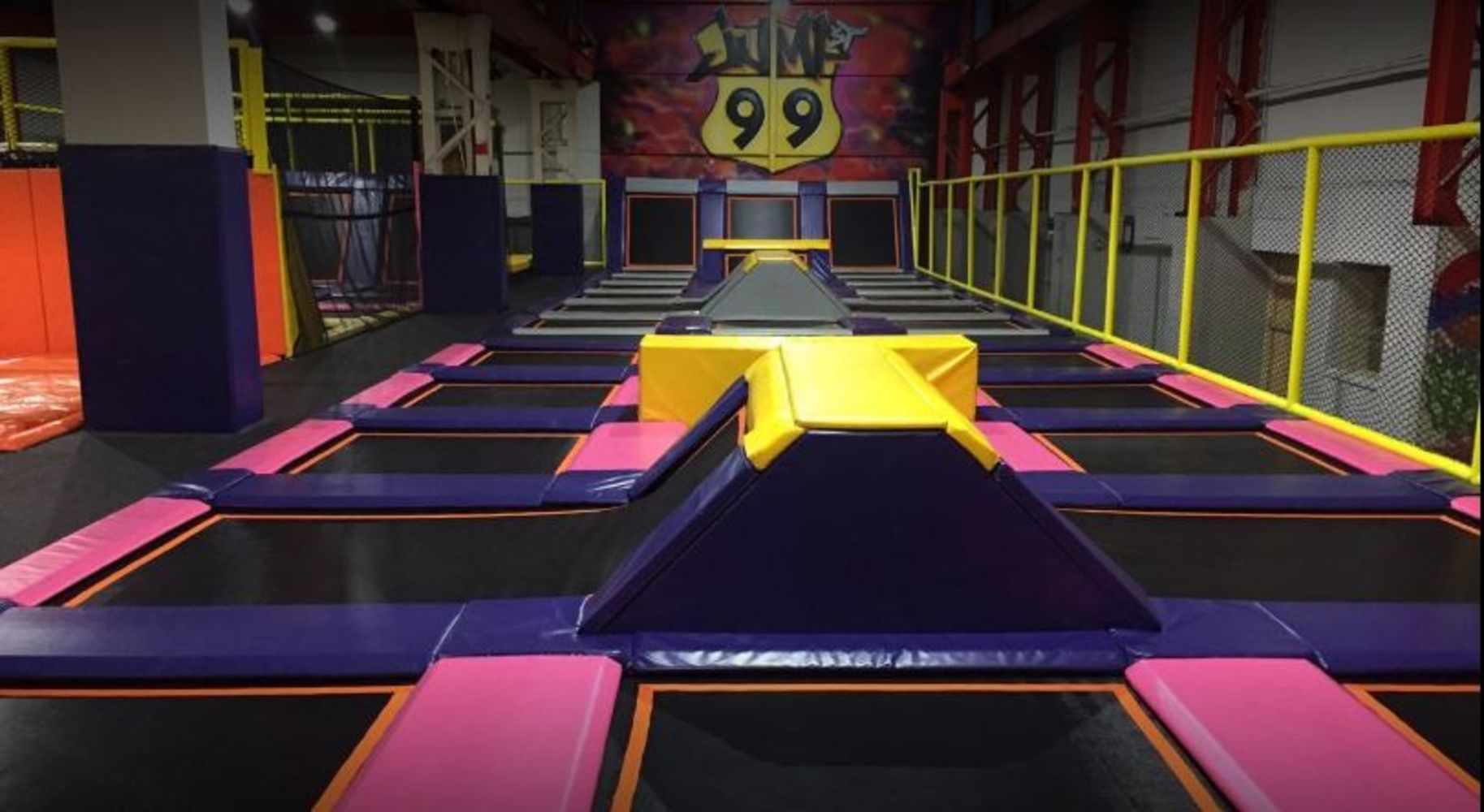 Indoor Trampoline Park, 99 Jump Sheffield