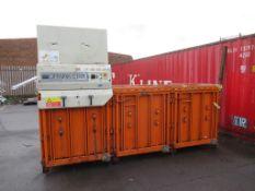 Orwak 9020s Triple Baler Compactor