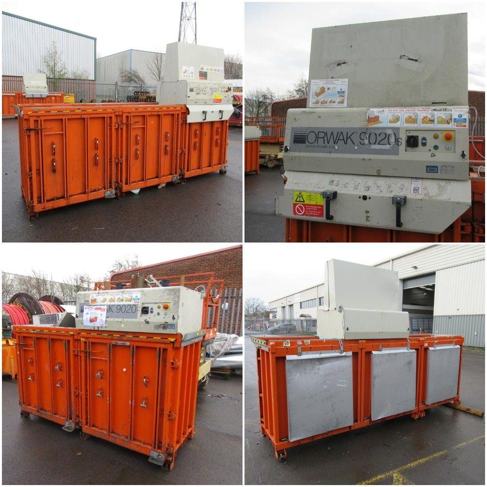 5 x Owark 9020s Baler Compactors