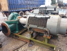 A 2008 skid mounted Weir Pumps Type SDL 300/450B water pump