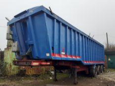 A 2003 Triaxle Weighlifter Hydraulic Trailer/ Tipper