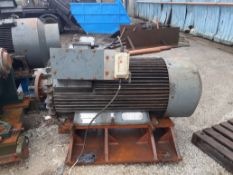 A 1977 Parsons Peebles 300kW 3-Phase Inductional Motor