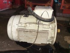 2012 Teco-Westinghouse 45kW 3-phase induction motor