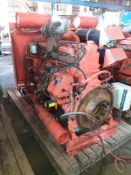 Skid Mounted 6 cylinder Volvo Penta Turbo Diesel Engine with Axflow Fire Pump