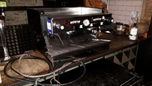 La Marzocco 2 Group Espresso Machine (2013) – Requires new plug