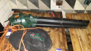 QGarden QGBV2500 Leaf Blower Vacuum (2018) Serial Number 032088