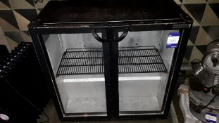 Autonumis Double Hinged Door Bottle Cooler Serial Number 08/15/RG00459