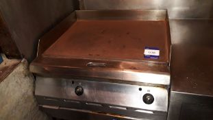 Garland Stainless Steel Gas Fired Table Top Griddle (Disconnection required by qualified