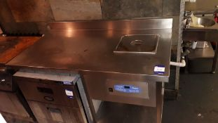 Stainless Steel Food Prep Table 1400mm fitted Grant SVE12 Sous Vide Professional Water Bath Cooker