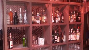 Quantity of Opened Bottles of Various Spirits to B