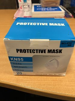 Single Use Type KN95 Self-Priming Filter Type Anti-Particulate Disposable Face Masks