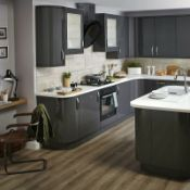 Circa 4,550 items of Kitchen Goods from the following ranges: Anthracite Gloss, Sandford Textured