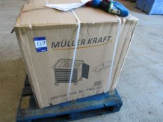 Muller Kraft 7 drawer roller tool chest with approx. 250 tools, Boxed and unused
