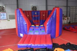Ninja Vortex, Inflatable competition game. 6m L x
