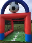 Inflatable Goal Kick, Speed Cage (Small)
