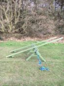 Modular Assault Course comprising timber obstacles