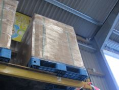 Pallet of pull-up spit sneeze/ covid protection sc