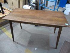 Retro Desk 2 Drawer (RE030)