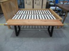 Unique Timber Metal Bench (TWIBD-1012)
