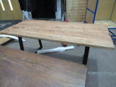 Unique Dining Table 1800mm (TUIBD-1011)