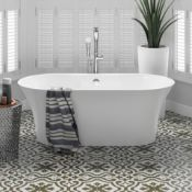 New 1600X750Mm Ella Freestanding Bath - Large. Rrp