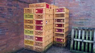 28 x game & poultry transportation crates