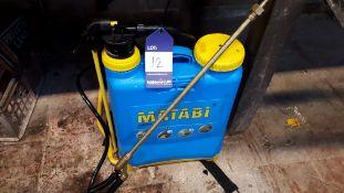 Matabi Napsack sprayer