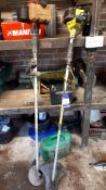 2 x various petrol strimmer, spares and repairs
