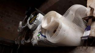 8 rolls of various damp-proof membrane material