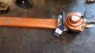 Stihl HS 56C petrol hedge cutter