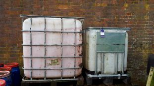 1000ltr IBC container, 600ltr IBC container