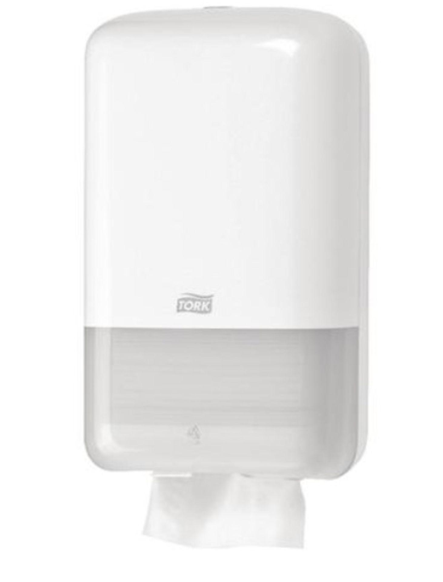 19 x Tork T3 New Folded Toilet Tissue Dispensers