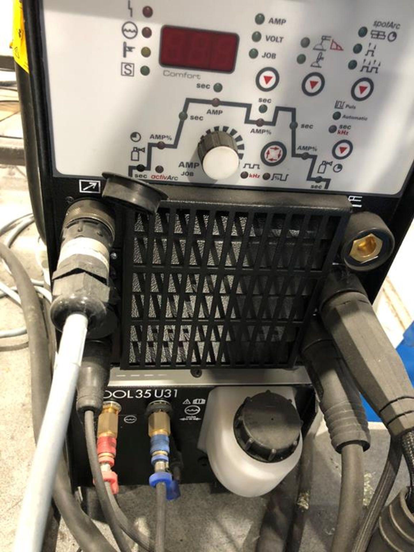 Unused 2017 EWM Tetrix 300 Comfort TM TIG DC Welding Machine - Image 3 of 3