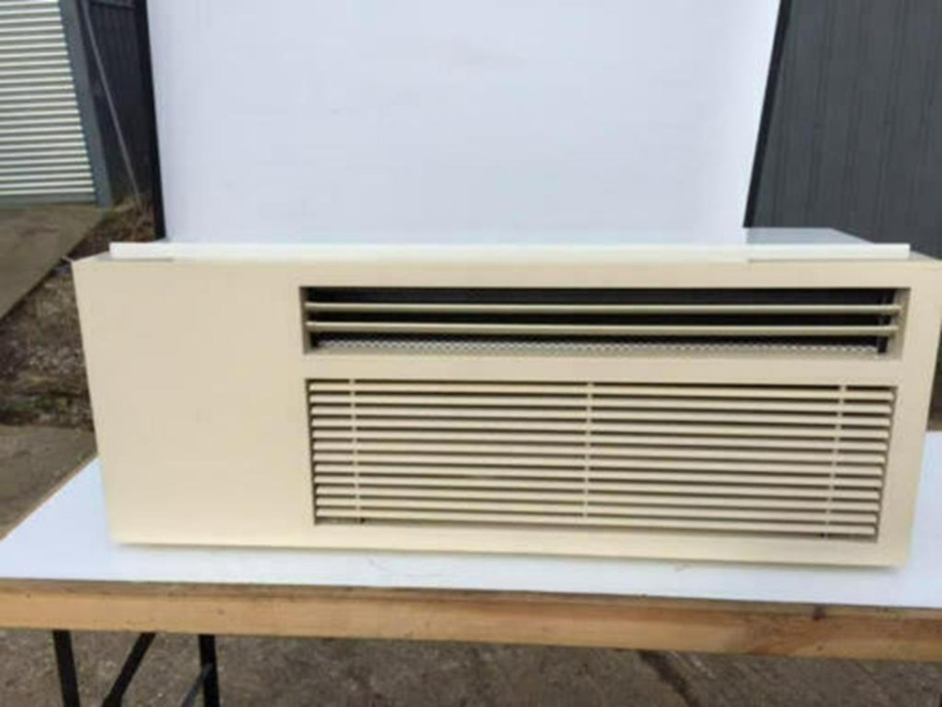 Brand New and Boxed Eco Air Conditioning Heat Pump Through Wall Unit - Image 2 of 11