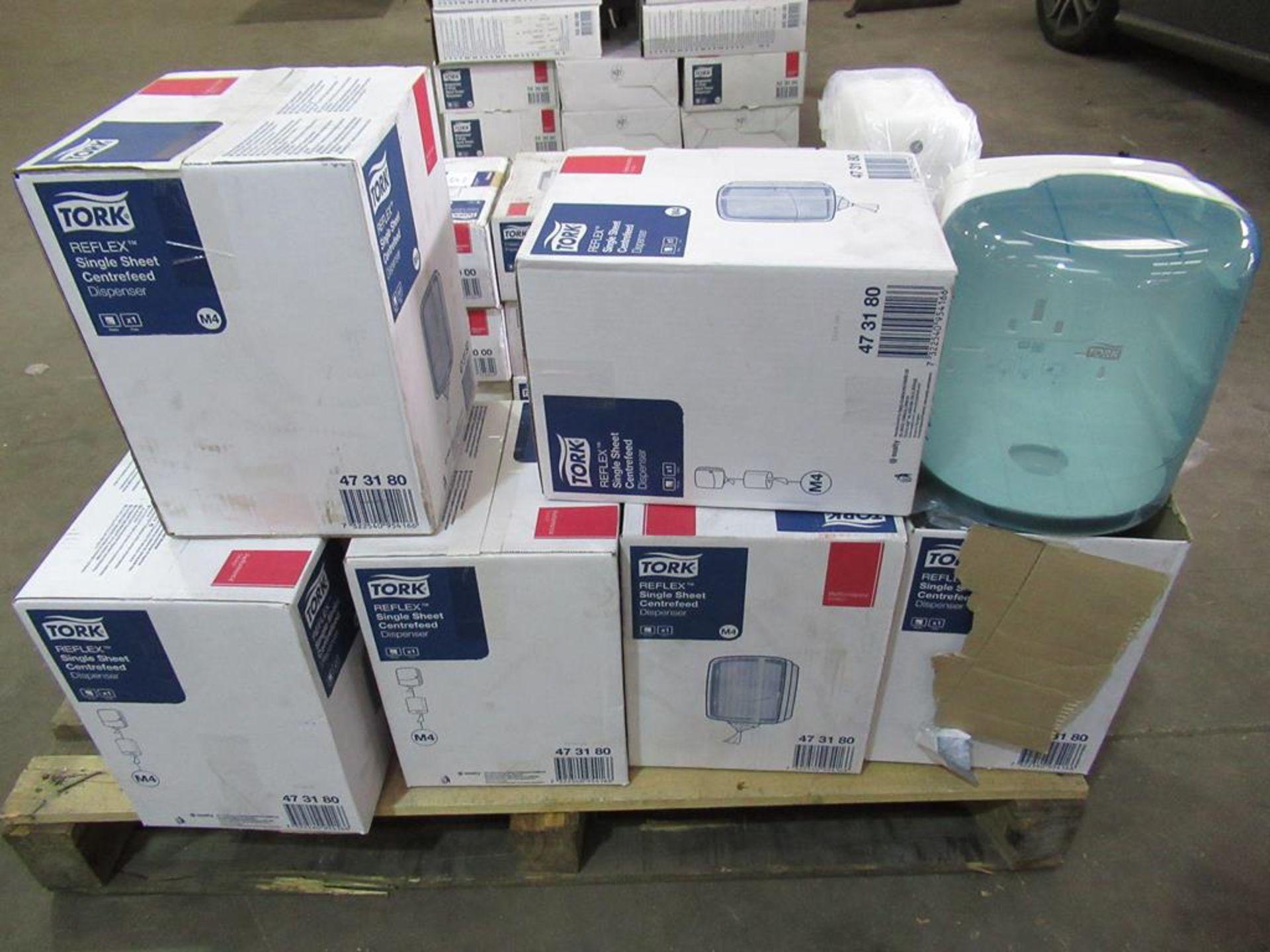 6 x New Tork Reflex Single Sheet White Roll Dispensers - Image 5 of 5