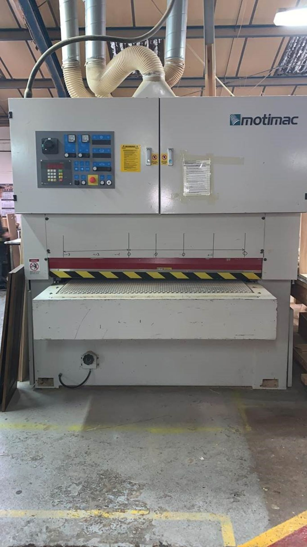Motimac 1300mm Wide Belt Woodworking Sander