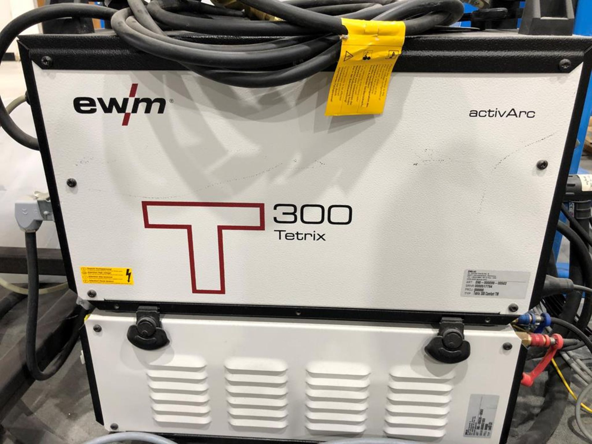 Unused 2017 EWM Tetrix 300 Comfort TM TIG DC Welding Machine - Image 2 of 3