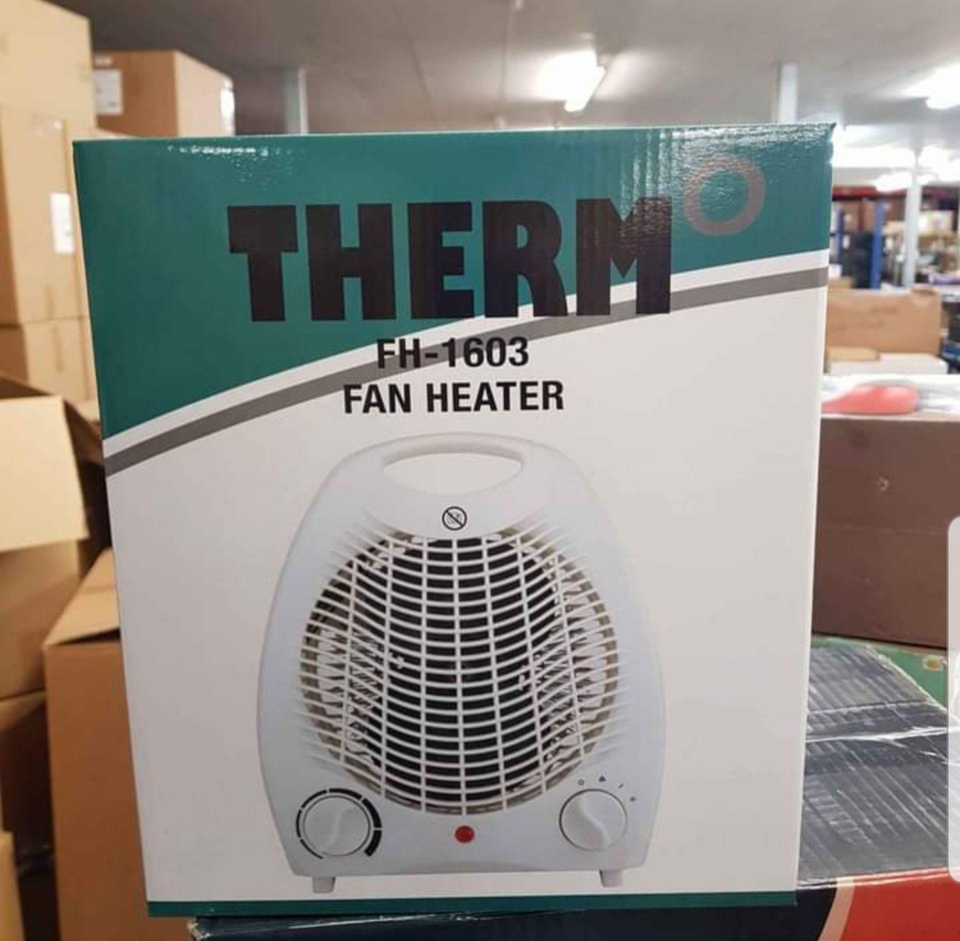 25 x 2kw fan heaters