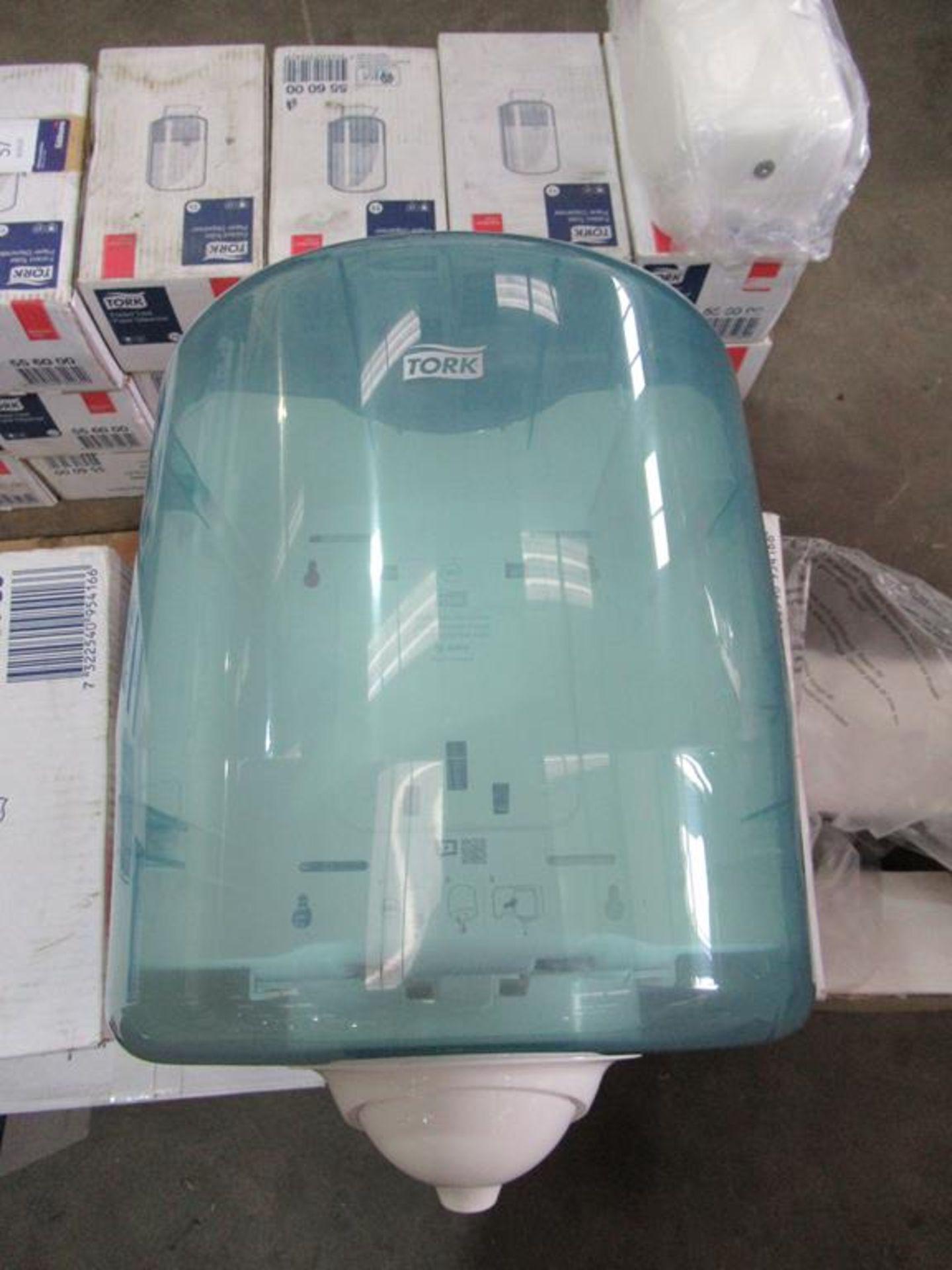 6 x New Tork Reflex Single Sheet White Roll Dispensers - Image 2 of 5