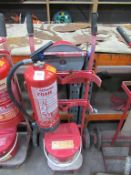 Fire Safety Barrow with extinguisher