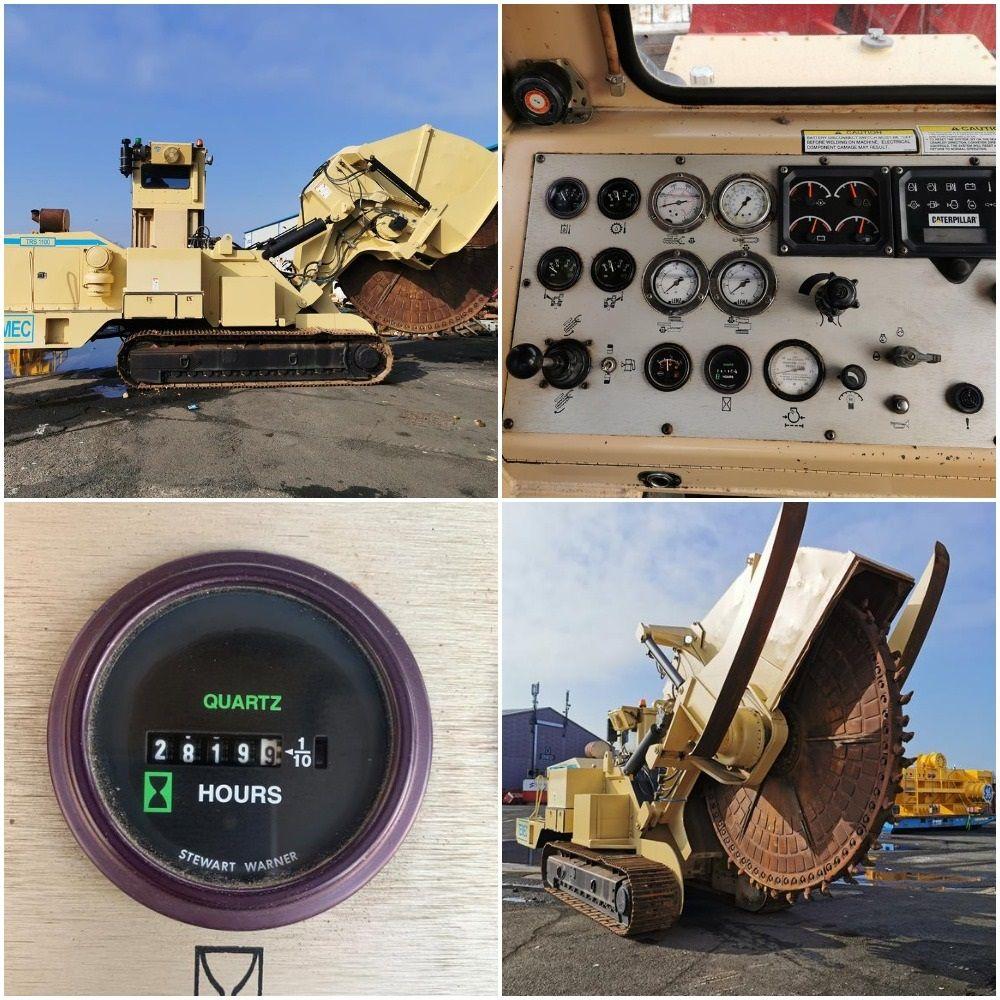 TESMEC TRS 1100 Trencher/Rocksaw