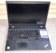 Lenovo ThinkPad T570 laptop, Serial Number R90PBTM