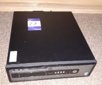 HP ProDesk 400 G1 SFF PC, Serial Number CZC5102G77