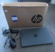 HP 255 G7 Notebook, Serial Number CND9512TW7, Char