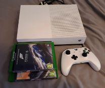 Xbox One S console (Model 1681), with wireless con